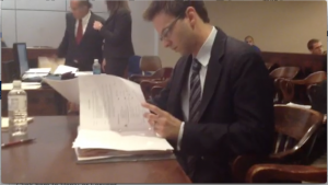 Justin Preparing Motion to Suppress Hearing