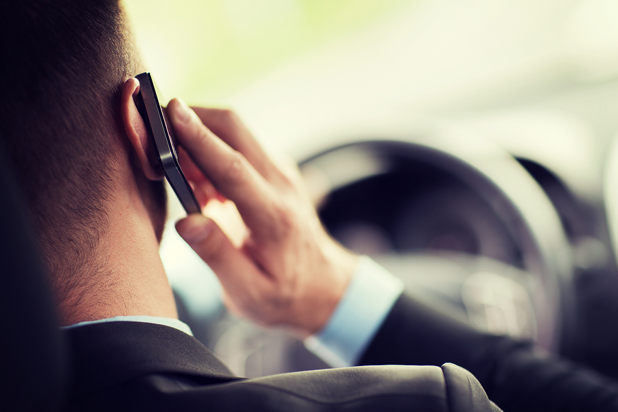 Cell Phones While Driving in San Antonio = $200 Fine