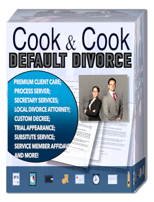 divorce when I don't know where spouse is